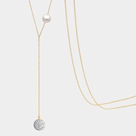 Seventy 6 Song Of Joy Gold Long Chain (7356)