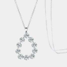 Seventy 6 Mermaid Tear White Long Chain (7426)