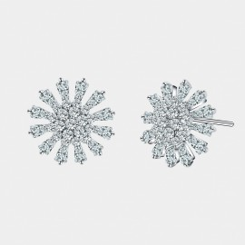 Seventy 6 Magnificent Dreams White Earrings (8564)