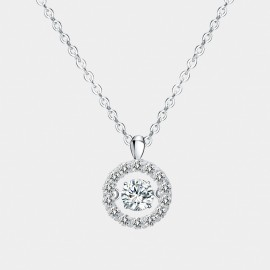 Seventy 6 Beauty In Your Dream White Necklace (12163)