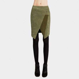 Vanilla Chocolate Real Imagination Green Skirt (V641057241)