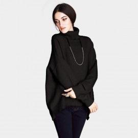 Vanilla Chocolate Curved Front Black Knit (V642197398)