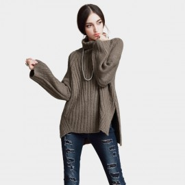 Vanilla Chocolate Subtle Free Style Brown Knit (V642197486)