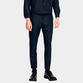 Basique Side Taping Navy Pants (22.0015)