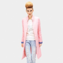 Cocobella Lined Cuff Pink Down Jacket (CT480)