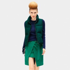 Cocobella Embroidered Leaf Green Jacket (CT550)