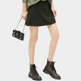 Cocobella Minor Military Green Skirt (DS553)