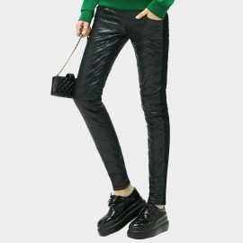 Cocobella Skinny Fit Quilted Black Pants (PT260)