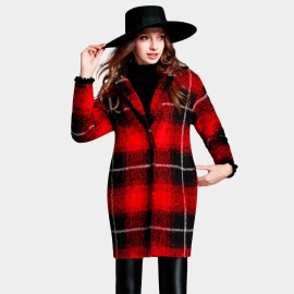 SSXR Thigh Length Chequered England Red Coat (4329)