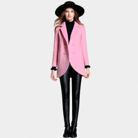 SSXR Round It Up Hip Length Pink Coats (4331)