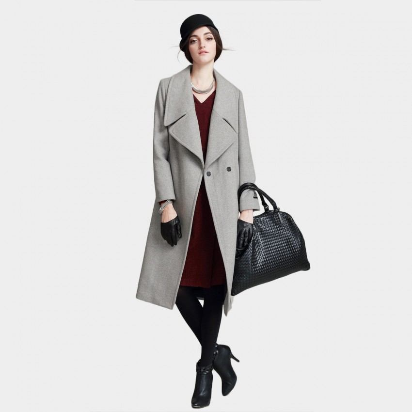 Vanilla Chocolate Strong Icon Grey Coat (V642277211)