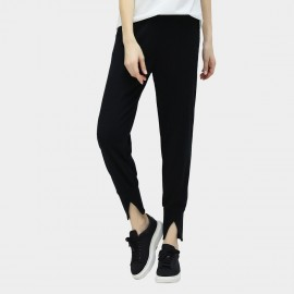Cocobella V Cut Cuff Black Pants (PT279)