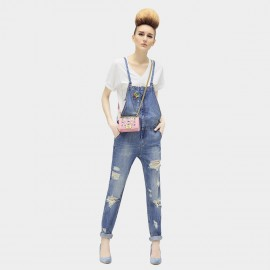 Cocobella Up To Narrow Blue Jumpsuit (PT281)