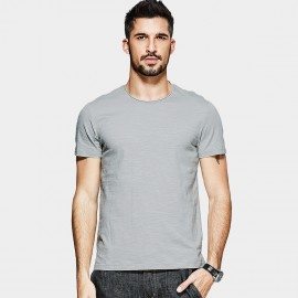 KUEGOU Basic Renewal Grey Tee (MT-1575)