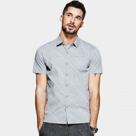 KUEGOU Pale Diamond Grey Shirt (UC-0801)