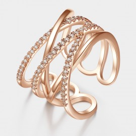 Caromay Wrap Rose Gold Bracelet (J0054)