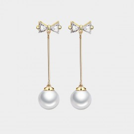 Caromay Social Time Champagne Gold Earrings (E2125)