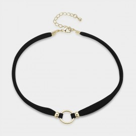 Caromay Fortune Choker Black Necklace (X1385)