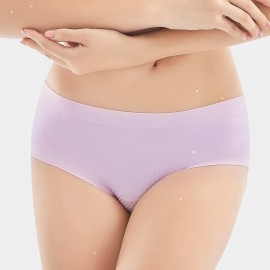 Olanfen Checkers Gradients Invisible Lilac Pantie (K8028)