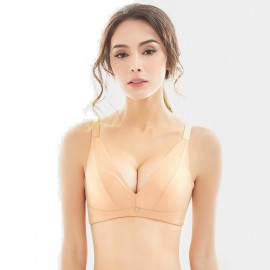 Olanfen High Platforms Cut And Sew Nude Bra (W6057)
