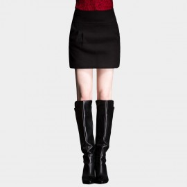 SSXR High Waistline Mini Black Skirt (5170)