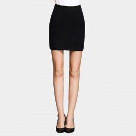 SSXR Slim Fit Pocket Black Skirt (5274)