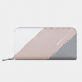 Dreabassa Horizontal Triple-Layers Apricot Wallet (DR179)