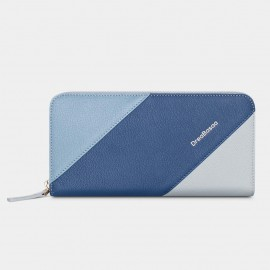 Dreabassa Horizontal Triple-Layers Blue Wallet (DR179)