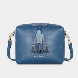 Dreabassa Elegant Form Blue Shoulder Bag (DR180)