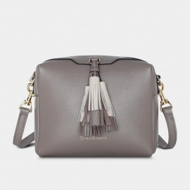 Dreabassa Elegant Form Grey Shoulder Bag (DR180)
