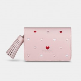 Dreabassa Heart-Pattern Pink Wallet (DR79)