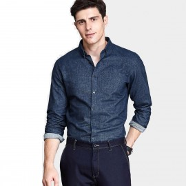 Qzhihe Denim Navy Shirt (HMC1358)