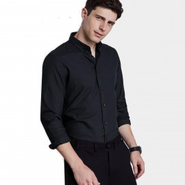 Qzhihe Professional Black Shirt (HMC1377)