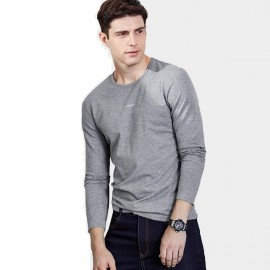 Qzhihe Sporty Grey Tee (HMT2319)
