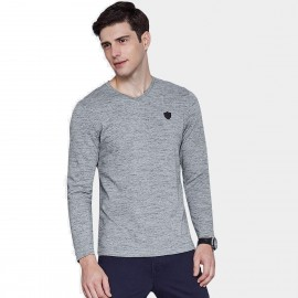 Qzhihe Carefree Grey Tee (HMT2335)