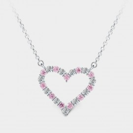 SEVENTY 6 A Merrily Loving Song Rose Necklace (12192)