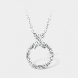 SEVENTY 6 Unknown Object White Necklace (12276)