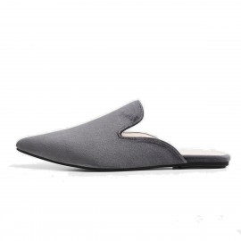 Superelephant Fairy Grey Slippers (AKDA8203-S3)