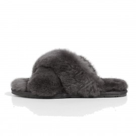 Superelephant Fleecy Grey Slippers (TX-1)