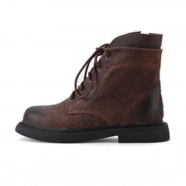Superelephant Raw Brown Boots (W431-15)