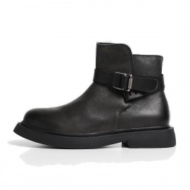 Superelephant Light Black Boots (W431-5)