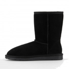 Superelephant Gentle Black Boots (XFN5825)