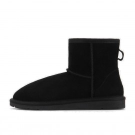 Superelephant Snow Black Boots (XFN5854)
