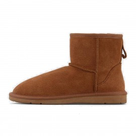 Superelephant Snow Brown Boots (XFN5854)