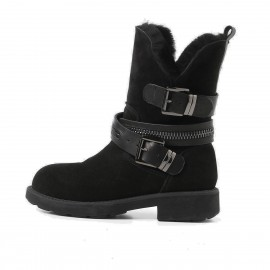 Superelephant Belt Black Boots (ZF0829)