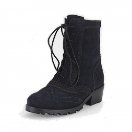 Superelephant Charm Navy Boots (ZF1386)