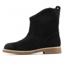 Supeerelephant Natural Black Boots (ZF1881)