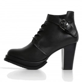 Superelephant Fabulous Black Boots (ZF998)