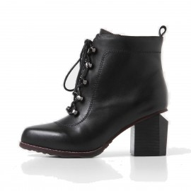 Superelephant Gem Black Boots (ZH2611-2L)
