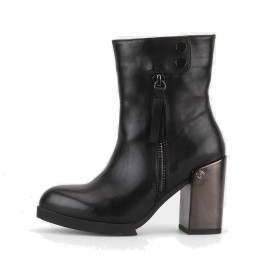 Superelephant Combination Black Boots (ZH936-1L)